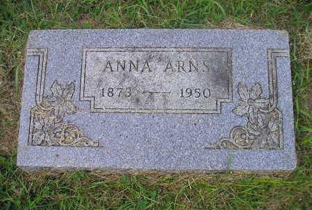 ARNS, ANNA - Bremer County, Iowa   ANNA ARNS