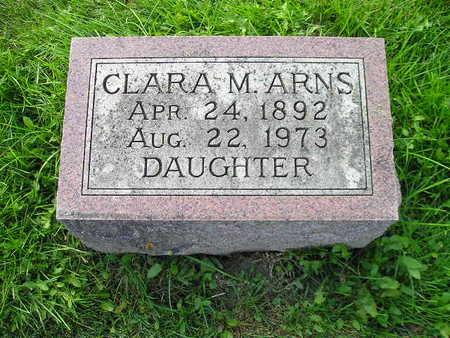 ARNS, CLARA M - Bremer County, Iowa | CLARA M ARNS
