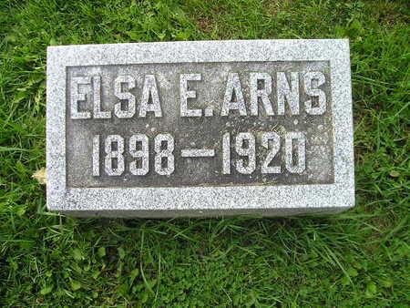 ARNS, ELSA E - Bremer County, Iowa | ELSA E ARNS