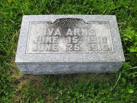 ARNS, IVA - Bremer County, Iowa   IVA ARNS