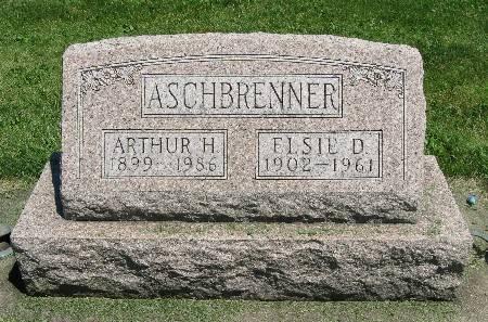ASCHBRENNER, ELSIE D. - Bremer County, Iowa | ELSIE D. ASCHBRENNER
