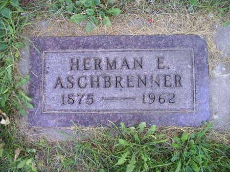 ASCHBRENNER, HERMAN E - Bremer County, Iowa | HERMAN E ASCHBRENNER