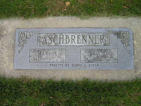ASCHBRENNER, MARY K - Bremer County, Iowa | MARY K ASCHBRENNER