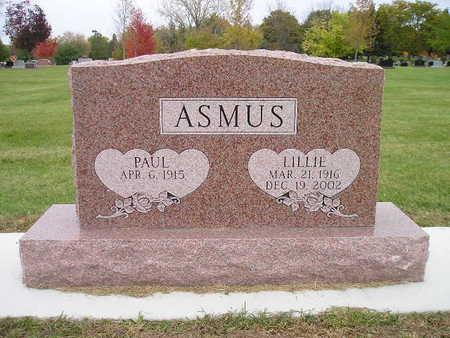 ASMUS, PAUL - Bremer County, Iowa | PAUL ASMUS