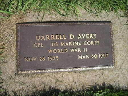 AVERY, DARRELL D - Bremer County, Iowa | DARRELL D AVERY