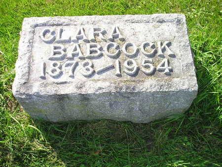 BABCOCK, CLARA - Bremer County, Iowa | CLARA BABCOCK