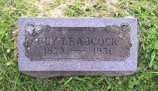BABCOCK, GUY - Bremer County, Iowa | GUY BABCOCK