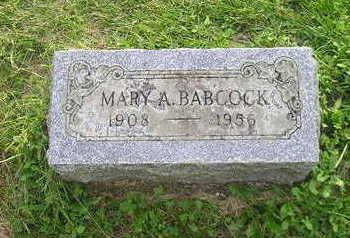 BABCOCK, MARY - Bremer County, Iowa | MARY BABCOCK