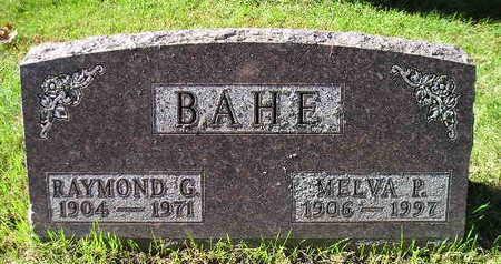 BAHE, RAYMOND G - Bremer County, Iowa | RAYMOND G BAHE