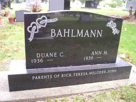 BAHLMANN, DUANE C - Bremer County, Iowa | DUANE C BAHLMANN