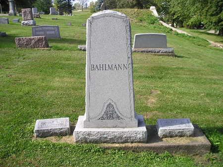 BAHLMANN, DIETRICH, CLARA - Bremer County, Iowa | DIETRICH, CLARA BAHLMANN