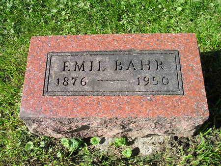 BAHR, EMIL - Bremer County, Iowa | EMIL BAHR