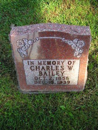 BAILEY, CHARLES W - Bremer County, Iowa | CHARLES W BAILEY