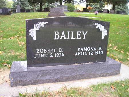 BAILEY, RAMONA M - Bremer County, Iowa   RAMONA M BAILEY