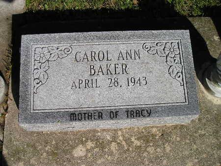 BAKER, CAROL ANN - Bremer County, Iowa | CAROL ANN BAKER