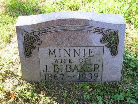 BAKER, MINNIE - Bremer County, Iowa   MINNIE BAKER