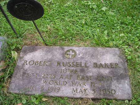 BAKER, ROBERT RUSSELL - Bremer County, Iowa   ROBERT RUSSELL BAKER