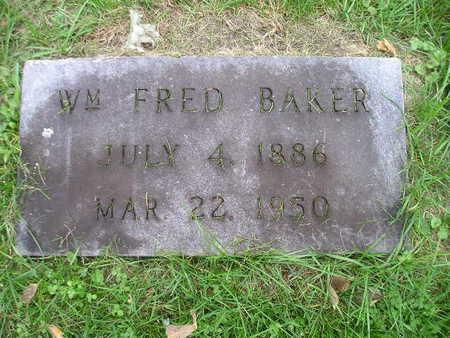 BAKER, WM FRED - Bremer County, Iowa | WM FRED BAKER