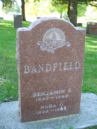 BANDFIELD, NORA O - Bremer County, Iowa   NORA O BANDFIELD