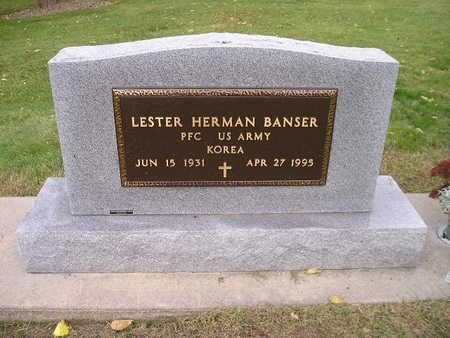 BANSER, LESTER HERMAN - Bremer County, Iowa | LESTER HERMAN BANSER