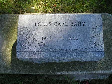 BANY, LOUIS CARL - Bremer County, Iowa | LOUIS CARL BANY