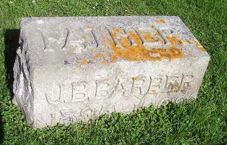 BARBER, J B - Bremer County, Iowa | J B BARBER