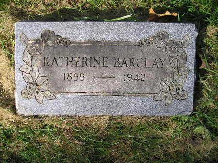 BARCLAY, KATHERINE - Bremer County, Iowa | KATHERINE BARCLAY