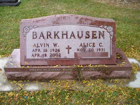 BARKHAUSEN, ALICE C - Bremer County, Iowa | ALICE C BARKHAUSEN
