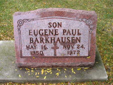 BARKHAUSEN, EUGENE PAUL - Bremer County, Iowa | EUGENE PAUL BARKHAUSEN