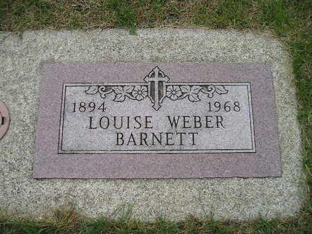 WEBER BARNETT, LOUISE - Bremer County, Iowa | LOUISE WEBER BARNETT