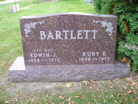 BARTLETT, RUBY E - Bremer County, Iowa   RUBY E BARTLETT