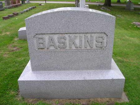 BASKINS, ABNER, EFFIE - Bremer County, Iowa | ABNER, EFFIE BASKINS