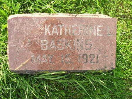 BASKINS, KATHERINE L - Bremer County, Iowa | KATHERINE L BASKINS