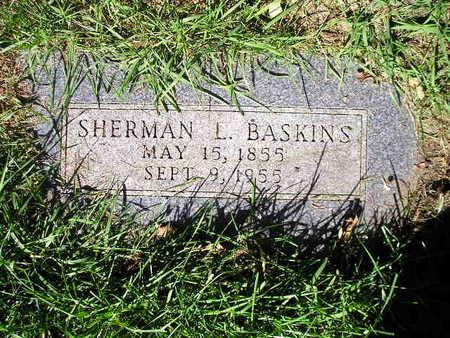 BASKINS, SHERMAN L - Bremer County, Iowa | SHERMAN L BASKINS