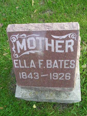 BATES, ELLA F - Bremer County, Iowa | ELLA F BATES