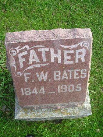 BATES, F W - Bremer County, Iowa | F W BATES