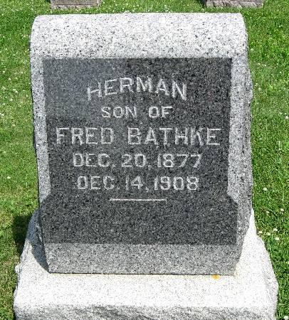 BATHKE, HERMAN - Bremer County, Iowa | HERMAN BATHKE