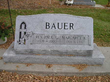 BAUER, PAUL G - Bremer County, Iowa | PAUL G BAUER