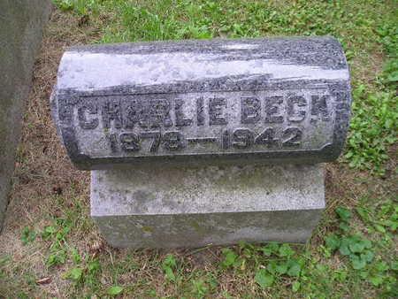 BECK, CHARLIE - Bremer County, Iowa | CHARLIE BECK
