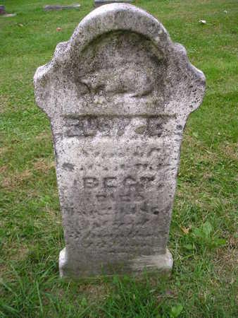 BECK, EUGENE - Bremer County, Iowa | EUGENE BECK