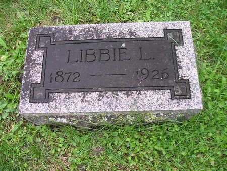 BECK, LIBBIE L - Bremer County, Iowa | LIBBIE L BECK