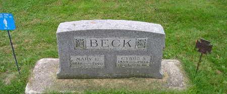 BECK, CYRUS - Bremer County, Iowa | CYRUS BECK