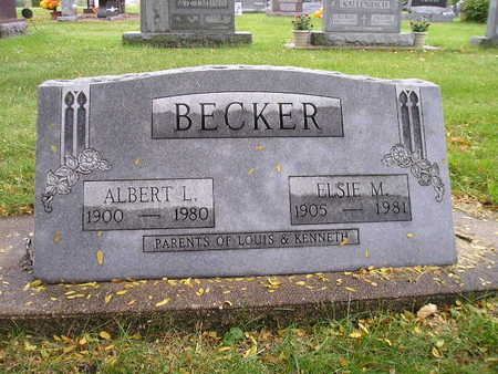 BECKER, ELSIE M - Bremer County, Iowa | ELSIE M BECKER