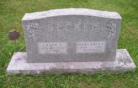 BECKER, MARGARET C - Bremer County, Iowa | MARGARET C BECKER