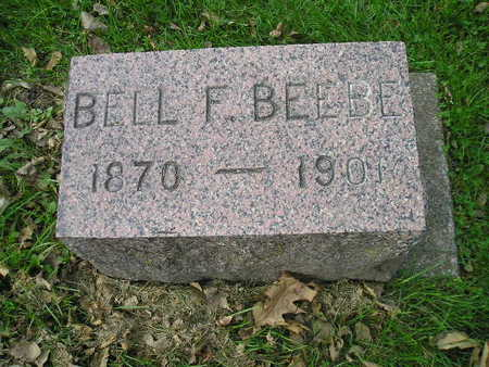 BEEBE, BELL F - Bremer County, Iowa | BELL F BEEBE