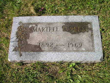 BEEBE, MARTELL D - Bremer County, Iowa | MARTELL D BEEBE