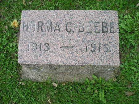 BEEBE, NORMA C - Bremer County, Iowa   NORMA C BEEBE