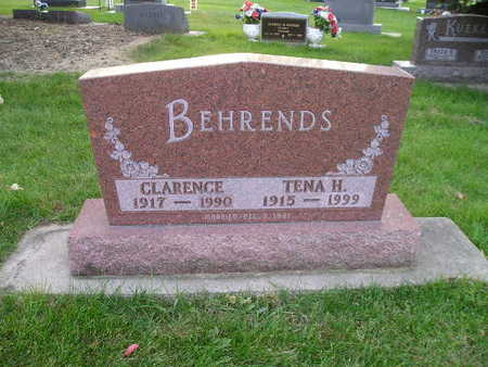 BEHRENDS, CLARENCE - Bremer County, Iowa | CLARENCE BEHRENDS
