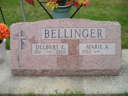 BELLINGER, DELBERT E - Bremer County, Iowa | DELBERT E BELLINGER