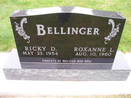 BELLINGER, ROXANNE L - Bremer County, Iowa   ROXANNE L BELLINGER